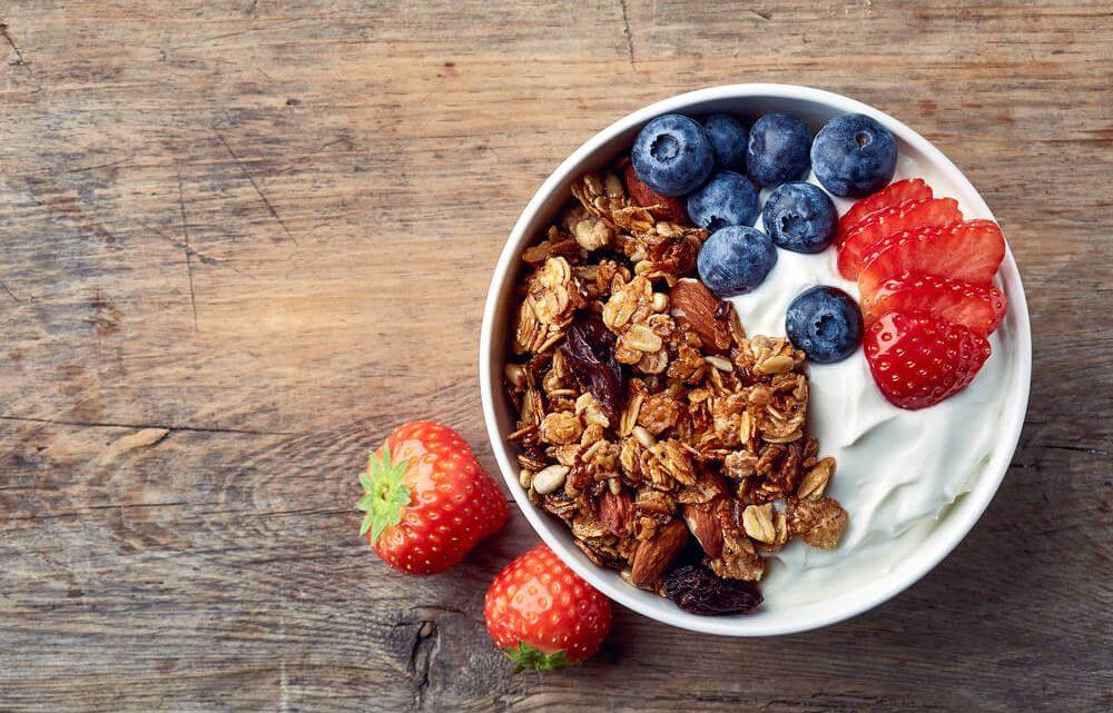 Cinco desayunos saludables