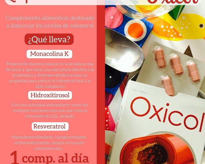 Oxicol Complemento Alimenticio Para Normalizar los Niveles De Colesterol,